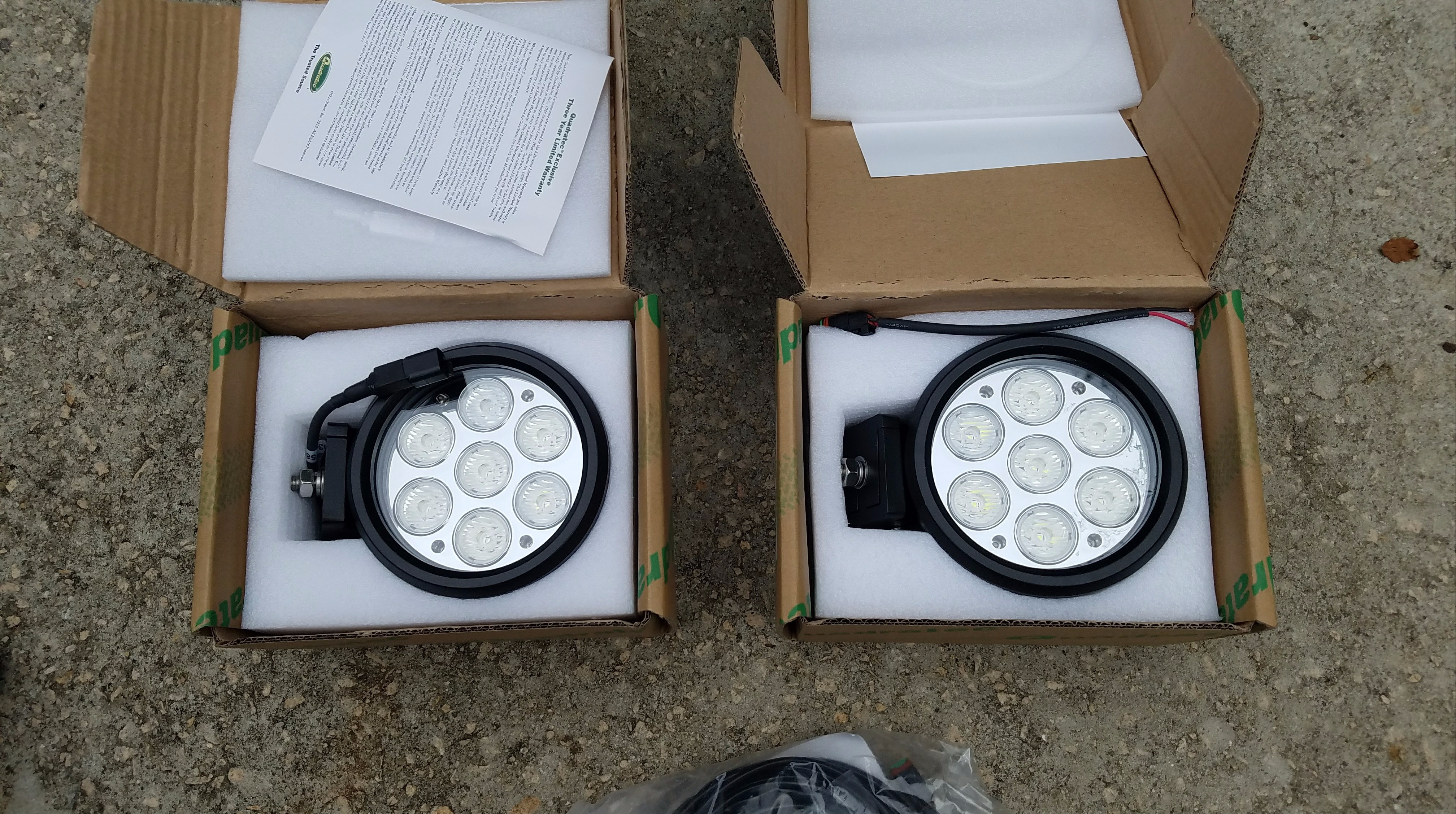quadratec 6 round led lights writeup and review expedition portal rh expeditionportal com